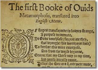 Metamorphoses: Volume I, Books I-VIII